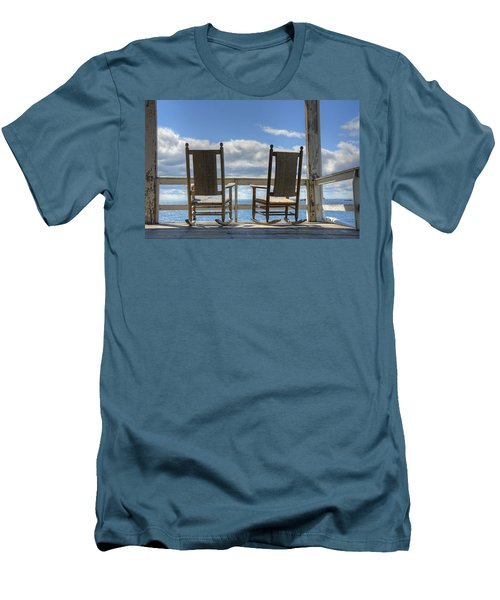 Star Island Rocking Chairs Men's T-Shirt (Athletic Fit)