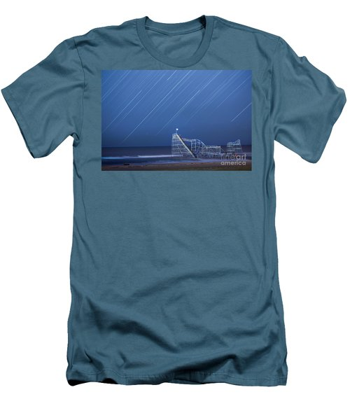 Starjet Under The Stars Men's T-Shirt (Athletic Fit)