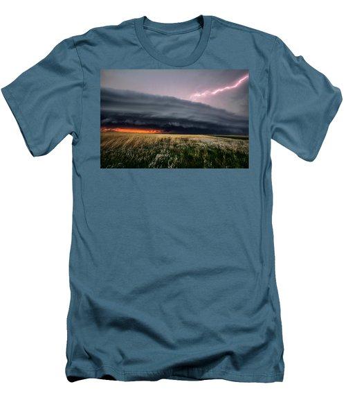 Steamroller Men's T-Shirt (Athletic Fit)