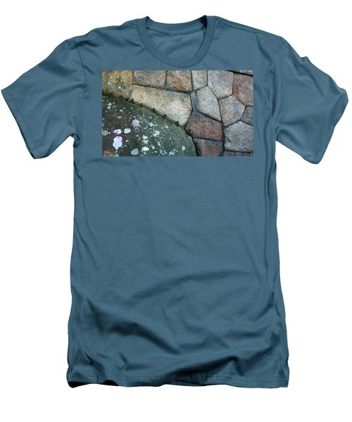 Stitched Stones Men's T-Shirt (Athletic Fit)