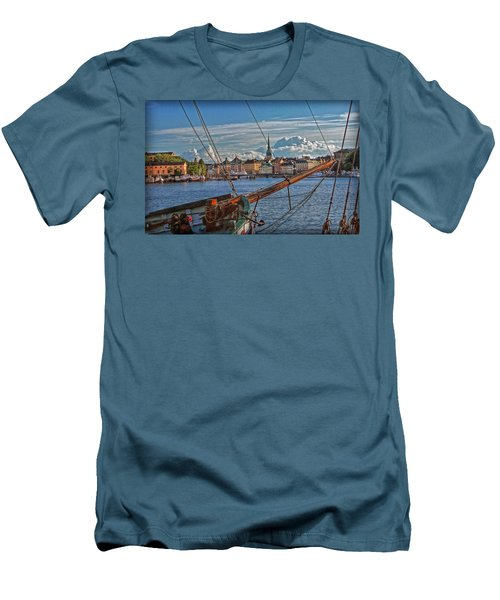 Stockholm Men's T-Shirt (Slim Fit) by Hanny Heim