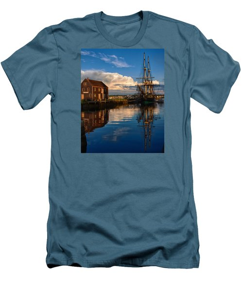 Storm Clearing Friendship Men's T-Shirt (Slim Fit) by Jeff Folger