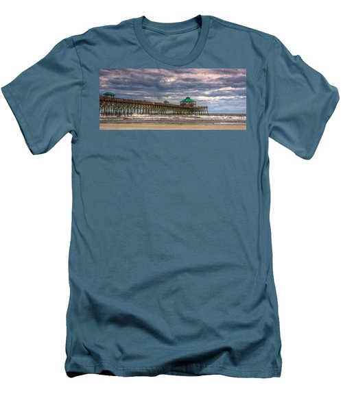 Storm Clouds Approaching - Hdr Men's T-Shirt (Athletic Fit)