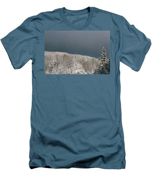 Storm's A'brewin' Men's T-Shirt (Slim Fit) by David Porteus