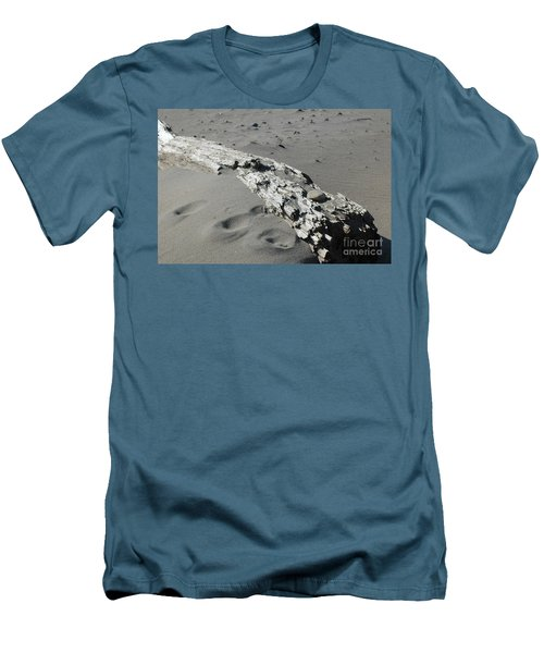 Men's T-Shirt (Athletic Fit) featuring the photograph Stranded by Christiane Hellner-OBrien