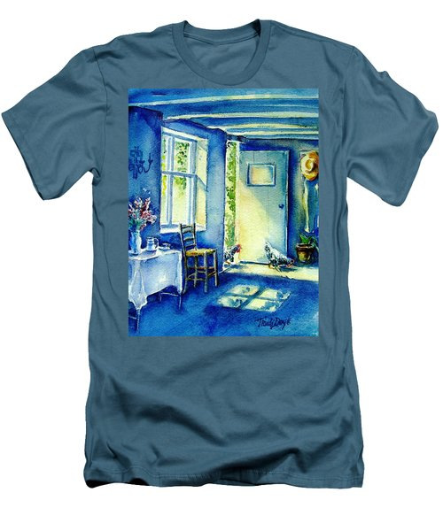 Summer Morning Visitors  Men's T-Shirt (Athletic Fit)