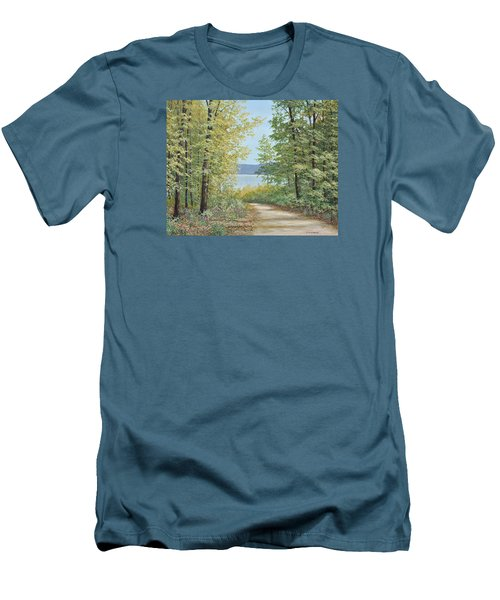 Summer Woods Men's T-Shirt (Athletic Fit)