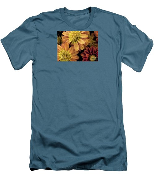 Men's T-Shirt (Slim Fit) featuring the photograph Sun Fans by Jean OKeeffe Macro Abundance Art