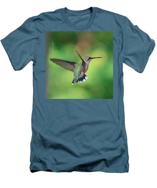 Suncatcher Men's T-Shirt (Slim Fit) by Amy Porter