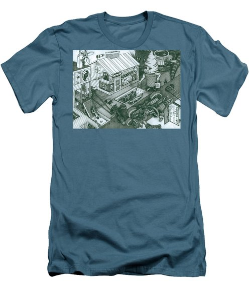 A Sundae In The Park With George Men's T-Shirt (Athletic Fit)