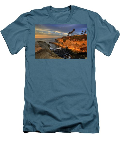 Sunset Cliffs Men's T-Shirt (Athletic Fit)