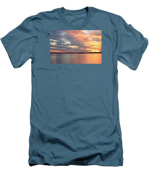 Sunset Magic Men's T-Shirt (Slim Fit) by Cynthia Guinn