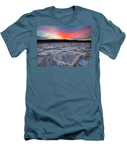 Sunset Over Badwater Men's T-Shirt (Athletic Fit)