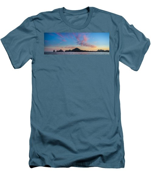 Men's T-Shirt (Slim Fit) featuring the photograph Sunset Over Cabo by Sebastian Musial