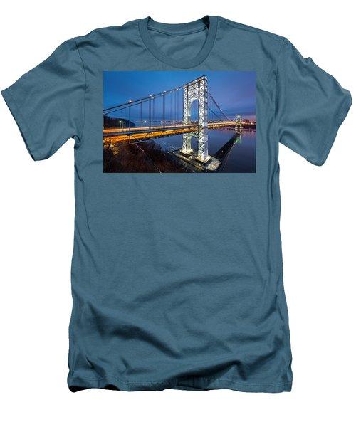 Super Bowl Gwb Men's T-Shirt (Athletic Fit)