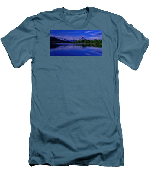 Super Moon Men's T-Shirt (Slim Fit) by Chad Dutson