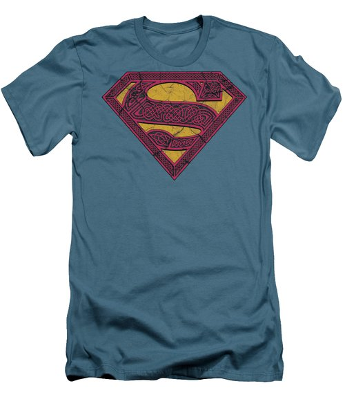 Superman - Celtic Shield Men's T-Shirt (Athletic Fit)