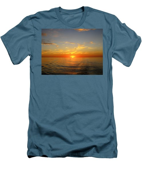 Surreal Sunrise At Sea Men's T-Shirt (Athletic Fit)