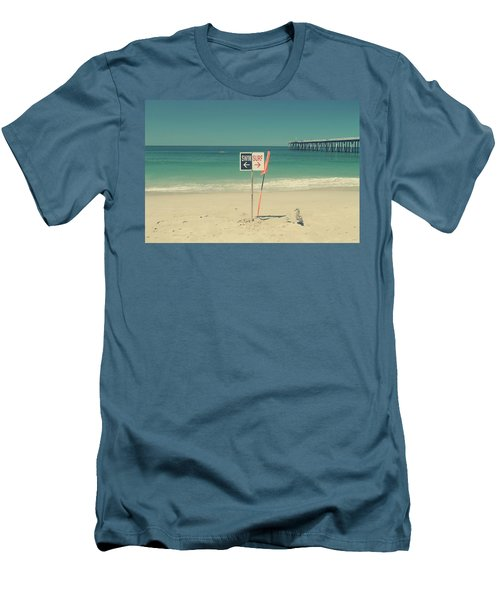Swim And Surf Men's T-Shirt (Slim Fit) by Laurie Search