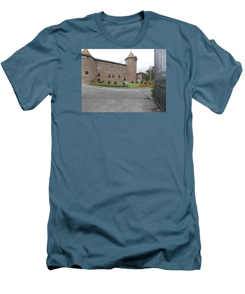 Swiss Castle Men's T-Shirt (Athletic Fit)
