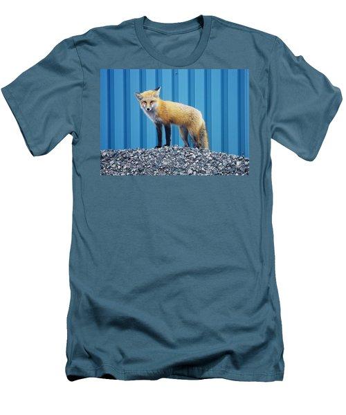 Men's T-Shirt (Slim Fit) featuring the photograph Sydney Fox by Jason Lees