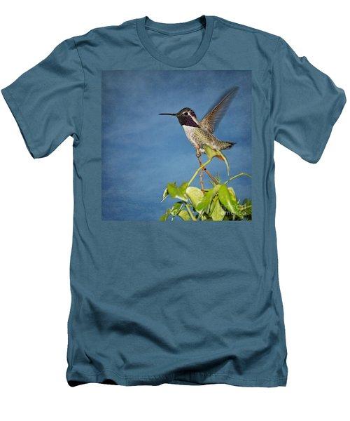 Taking Flight Men's T-Shirt (Slim Fit) by Peggy Hughes