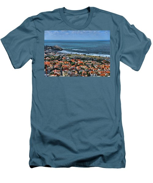 Men's T-Shirt (Slim Fit) featuring the photograph Tel Aviv Spring Time by Ron Shoshani