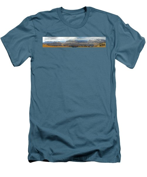 Teton Canyon Shelf Men's T-Shirt (Slim Fit) by Raymond Salani III