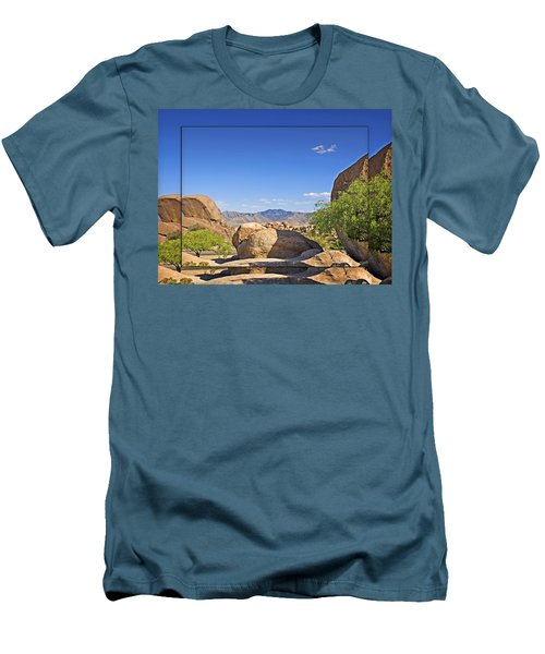 Texas Canyon 2 Men's T-Shirt (Slim Fit) by Walter Herrit