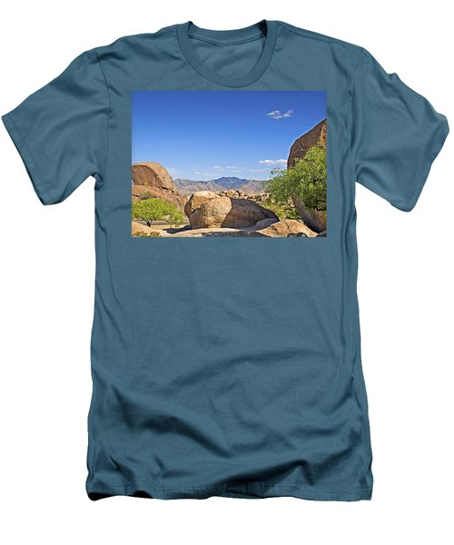 Texas Canyon Men's T-Shirt (Slim Fit) by Walter Herrit