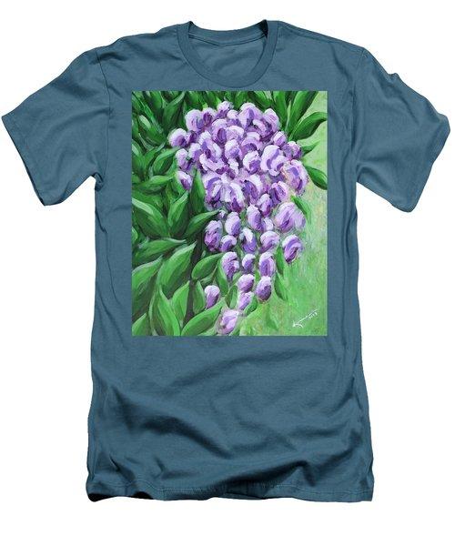 Texas Mountain Laurel Men's T-Shirt (Slim Fit) by Kume Bryant