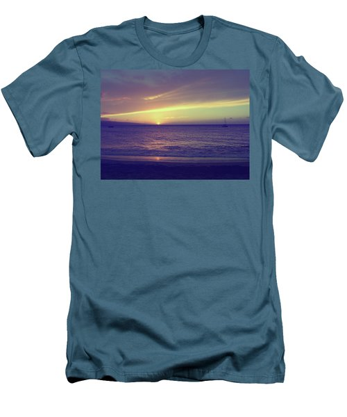 That Peaceful Feeling Men's T-Shirt (Slim Fit) by Laurie Search