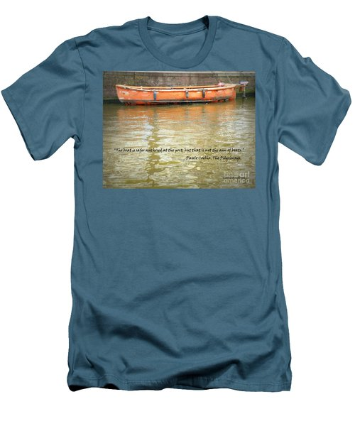 The Aim Of Boats Men's T-Shirt (Athletic Fit)