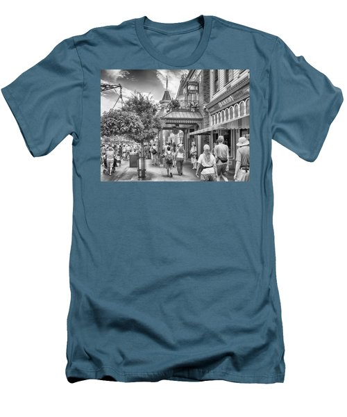 Men's T-Shirt (Slim Fit) featuring the photograph The Bakery by Howard Salmon