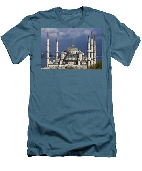 The Blue Mosque In Istanbul Men's T-Shirt (Athletic Fit)