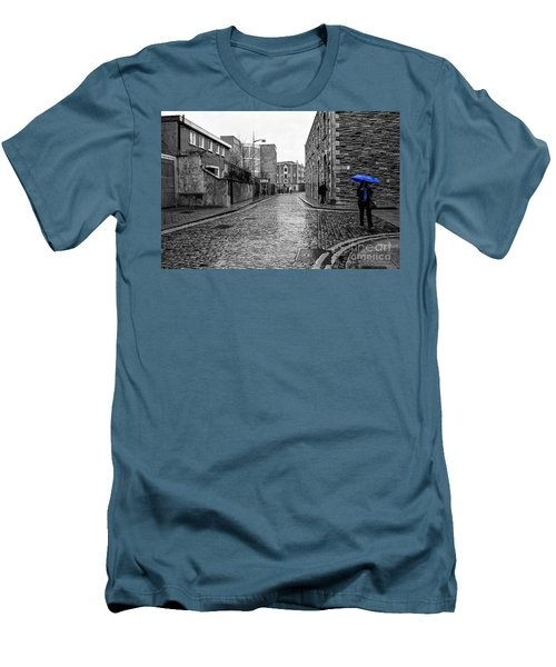 The Blue Umbrella - Sc Men's T-Shirt (Athletic Fit)