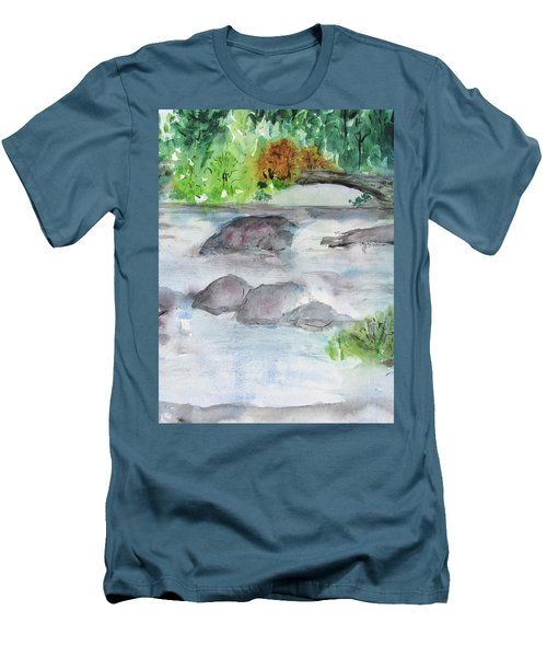 The Bog On Tupper Lake Men's T-Shirt (Athletic Fit)