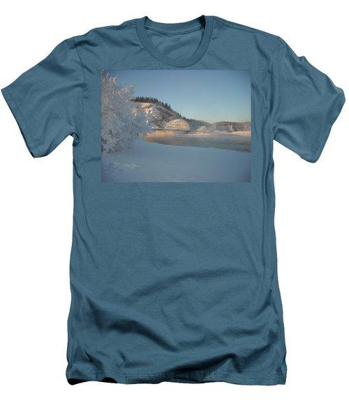 The Bridge At Big Delta 2 Men's T-Shirt (Athletic Fit)