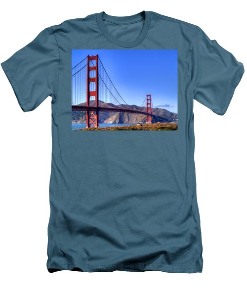 The Bridge Men's T-Shirt (Slim Fit) by Bill Gallagher
