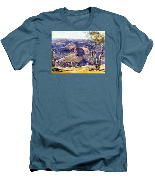 The Canyon Men's T-Shirt (Slim Fit) by Lee Piper