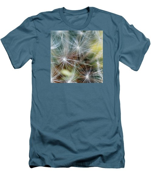 Men's T-Shirt (Slim Fit) featuring the photograph The Clock by Wendy Wilton