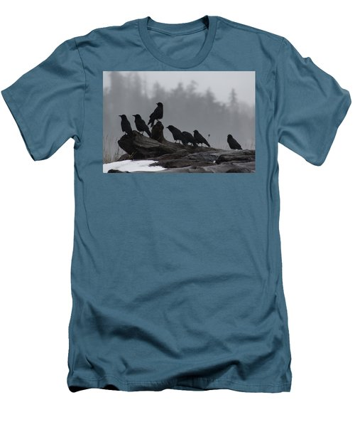 The Corvidae Family  Men's T-Shirt (Athletic Fit)