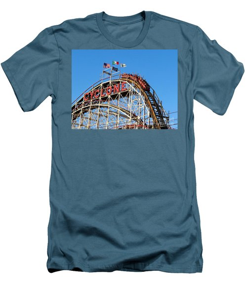 Men's T-Shirt (Slim Fit) featuring the photograph The Cyclone by Ed Weidman