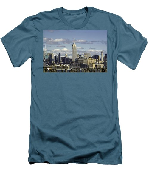 The Empire State Building 2 Men's T-Shirt (Athletic Fit)