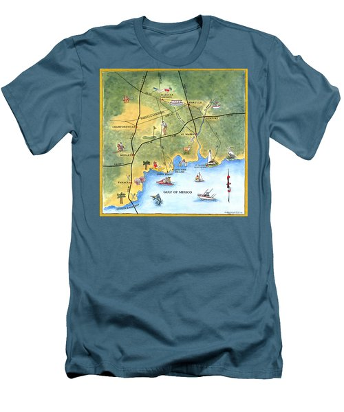 The Forgotten Coast St. Marks Men's T-Shirt (Athletic Fit)
