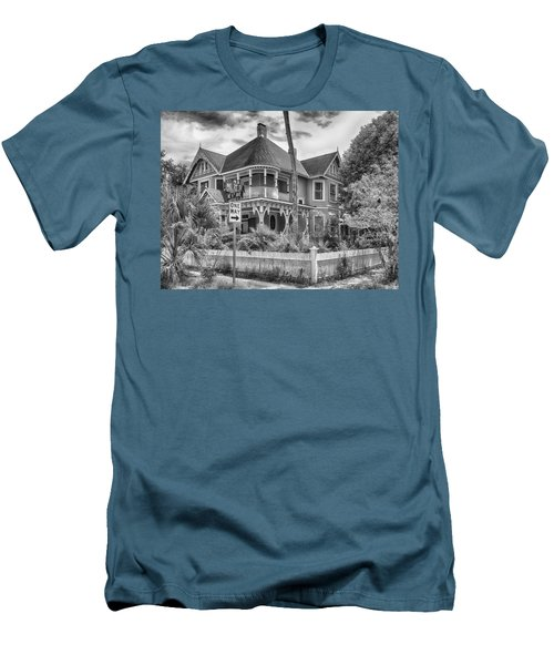 Men's T-Shirt (Slim Fit) featuring the photograph The Gingerbread House by Howard Salmon