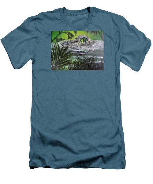 The Glades Men's T-Shirt (Slim Fit) by Dianna Lewis