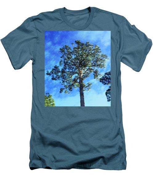 The Guardian Of The Graveyard Men's T-Shirt (Slim Fit) by Carlos Avila
