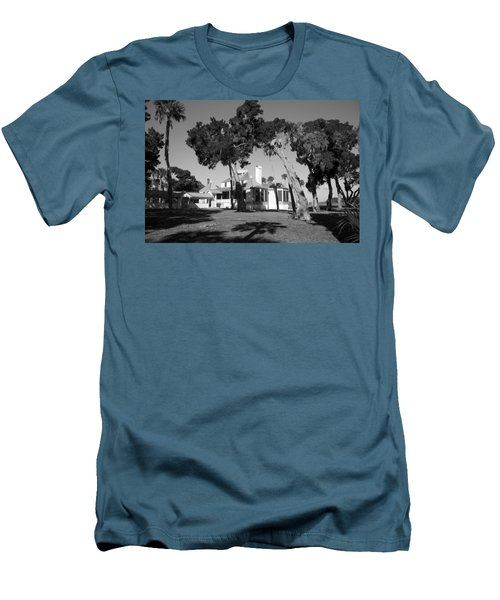 Men's T-Shirt (Slim Fit) featuring the photograph The Kingsley Plantation by Lynn Palmer