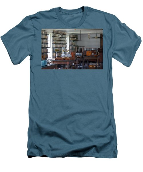 Men's T-Shirt (Slim Fit) featuring the photograph The Laboratory by Patrick Shupert